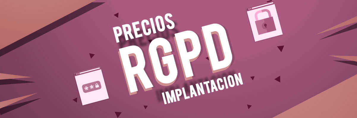 Precios de implantación RGPD